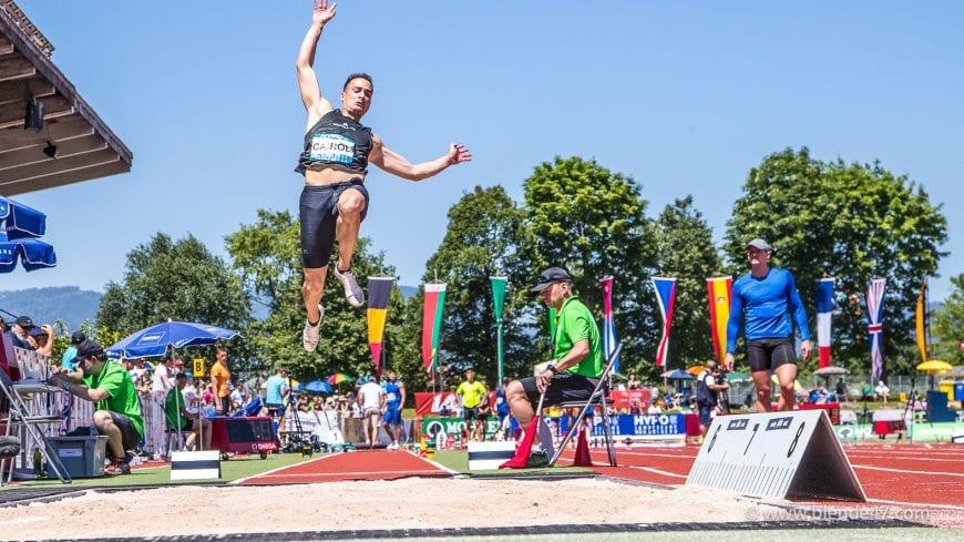 Goetzis, Oesterreich, 27.5.2017, Sport,  Leichtathletik - Hypo Meeting Goetzis. Bild zeigt Simone Carol (ITA), Weitsprung.  27/05/17, Goetzis, Austria, sport, Leichtathletik - Hypo Meeting Goetzis. Image shows Simone Carol (ITA), Long Jump.