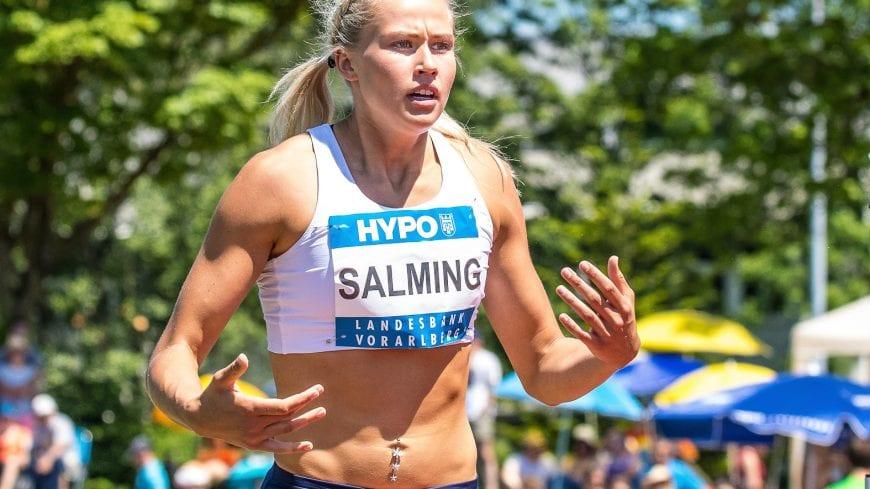 Goetzis, Oesterreich, 27.5.2017, Sport,  Leichtathletik - Hypo Meeting Goetzis. Bild zeigt Bianca Salmig (SWE).  27/05/17, Goetzis, Austria, sport, Leichtathletik - Hypo Meeting Goetzis. Image shows Bianca Salmig (SWE).