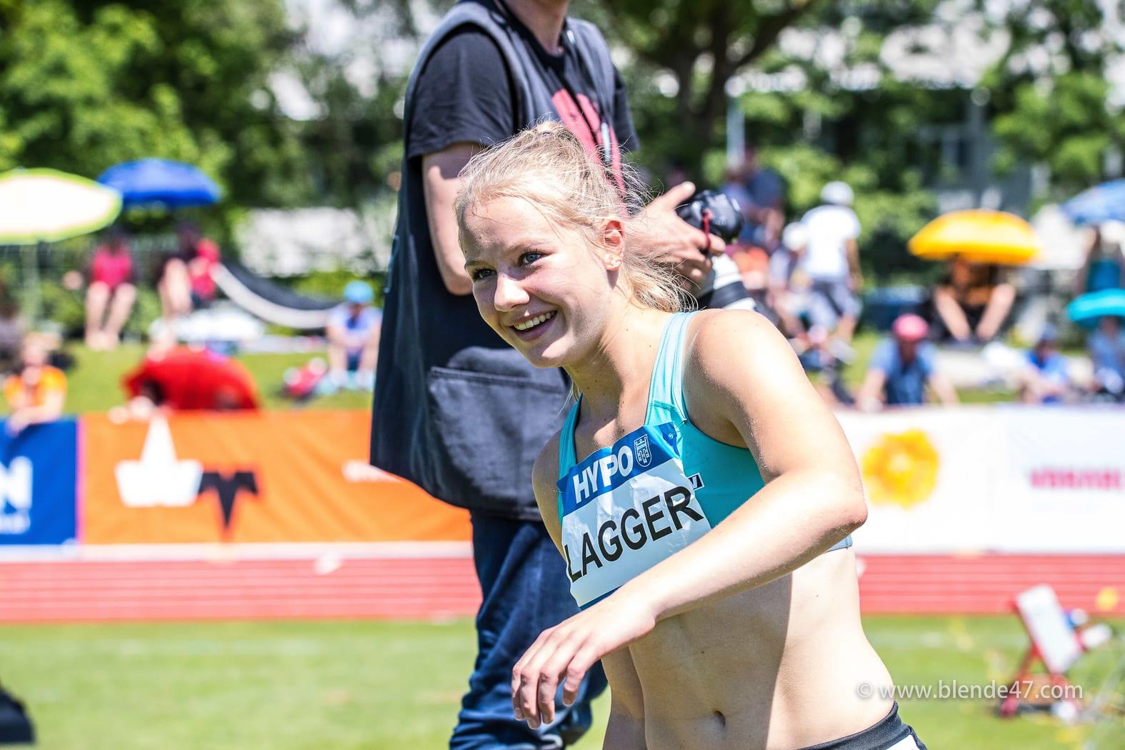Goetzis, Oesterreich, 27.5.2017, Sport,  Leichtathletik - Hypo Meeting Goetzis. Bild zeigt Sarah Lagger (AUT).  27/05/17, Goetzis, Austria, sport, Leichtathletik - Hypo Meeting Goetzis. Image shows Sarah Lagger (AUT).
