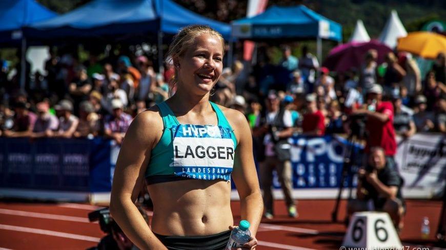 Goetzis, Oesterreich, 28.5.2017, Sport,  Leichtathletik - Hypo Meeting Goetzis. Bild zeigt Sarah Lagger (AUT).  28/05/17, Goetzis, Austria, sport, Leichtathletik - Hypo Meeting Goetzis. Image shows Sarah Lagger (AUT).