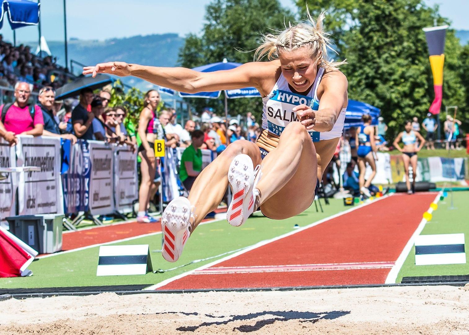 Goetzis, Oesterreich, 28.5.2017, Sport,  Leichtathletik - Hypo Meeting Goetzis. Bild zeigt Bianca Salmig (SWE).  28/05/17, Goetzis, Austria, sport, Leichtathletik - Hypo Meeting Goetzis. Image shows Bianca Salmig (SWE).