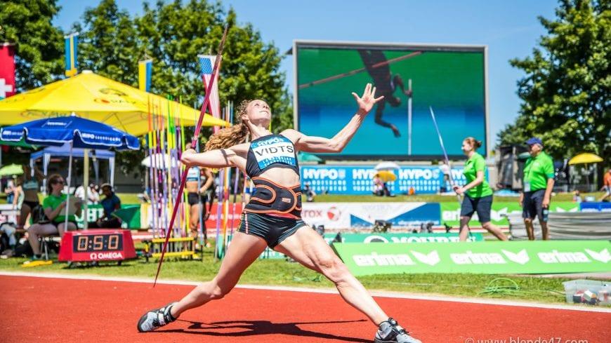 Goetzis, Oesterreich, 28.5.2017, Sport,  Leichtathletik - Hypo Meeting Goetzis. Bild zeigt Noor Vidts (BEL).  28/05/17, Goetzis, Austria, sport, Leichtathletik - Hypo Meeting Goetzis. Image shows Noor Vidts (BEL).